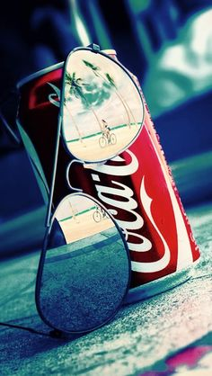 Coca-Cola art photo