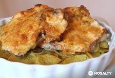 Sajtos tepsis tarja Apple Pie, Lasagna, Beef Recipes, Macaroni And Cheese, Sausage, Bacon, Pork, Favorite Recipes, Meat