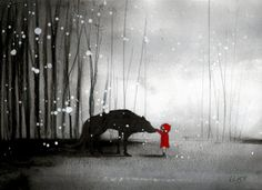 Little Red Riding Hood The First Touch - nadja martens
