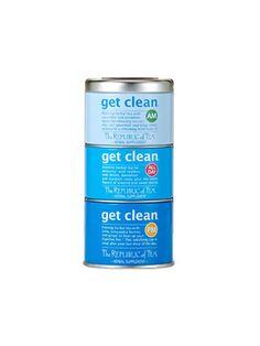 Should You Really Try Tea-Toxing? Tea Detox Plans - The Republic of Tea Get Clean Stackable Tea Tin | allure.com