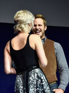 Pin for Later: Fact: You Are Not Ready For These Adorable Chris Pratt and Jennifer Lawrence Pictures