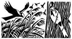 Marsh Harriers (October) Carry Akroyd - Painter & Printmaker - Postcards