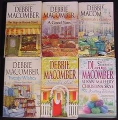love Debbie Macomber. I can read over and over