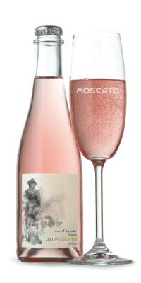 Moscato Beautiful pink for all our #wine loving #packaging peeps PD