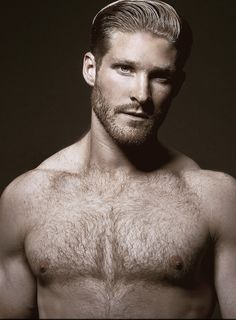 blonde men chest Naked hairy