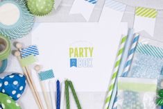 DIY Party In A Box Printable