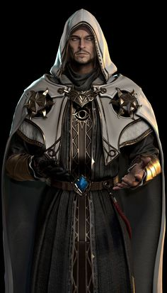Ui Joo Moon : This is Blade 2 company work NPC character is Magician so This is an Unreal 4 project Fantasy Wizard, Fantasy Heroes, Fantasy Male, Fantasy Armor, High Fantasy, Dark Fantasy Art, Medieval Fantasy, Fantasy Magician, Magician Art
