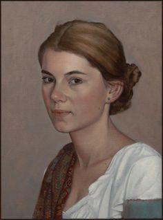 Portrait à la peinture à l'huile Scott E. Bartner - nabismag