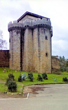 Old fortress of the feudal lordship of Granadilla, Cáceres, Spain