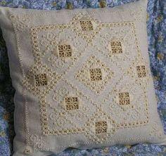 Hardanger doily | hardanger embroidery