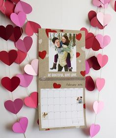 Make time for what matters. Create a custom calendar for a loved one this Valentine's Day so you'll never miss a special moment. | Shutterfly