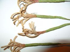 vintage millinery lily stamens