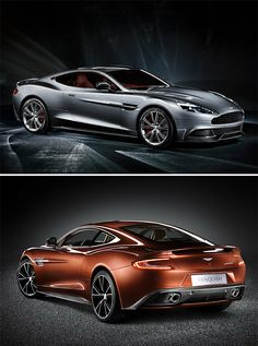2013 Aston Martin Vanquish - handsome rob car mentioned  from the movie the italian job, ofcourse this is a newer model