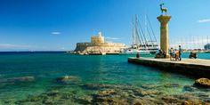 Mandraki Hafen von Rhodos Stadt, Rhodos