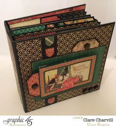 Enchanted Forest Pocket Album Clare Charvill Graphic 45