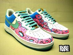 painted Doughnut shoes