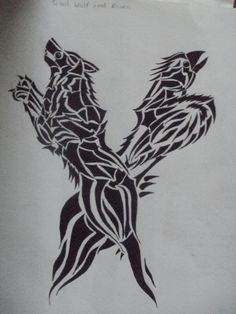 wolf adn raven art | wolf and raven by terasedward traditional art drawings other 2012 2014 ...