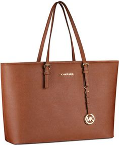 MICHAEL Michael Kors Jet Set Macbook Travel Tote with laptop and iPad pockets
