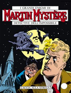 #MartinMystere, il Detective dell'impossibile. Creato da Alfredo Castelli nel 1982