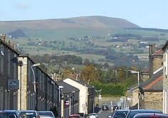 This fantastic photo of Pendle Hill on a bright day was taken from Nairne Street by David Parker.