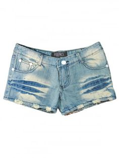 FROLL FADED HIP SHORTS [FF0218-1001] - Rs399.00 : FEEROL FASHIONS, The Fashion Collection