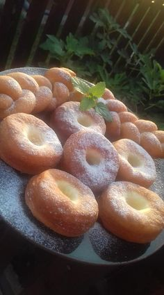 Hungarian Cake, Hungarian Recipes, Churros, Bagel, Doughnut, Breakfast Recipes, Food And Drink, Tasty, Sweets