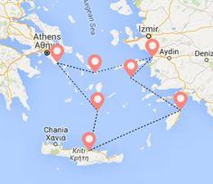 Ειδική Προσφορά 4ήμερη Κρουαζιέρα Εικονικό Αιγαίο με αναχώρηση 2 Μαΐου από 246 Ευρώ all-inclusive !!!!  Ισχύει για κρατήσεις έως 28 Απιλίου. Προλάβετε...  Τηλ 210 9006000 Ε-mail : princess@amphitrion.gr Athens, Cruise, Map, Travel, Cruises, Viajes, Cards, Traveling, Maps