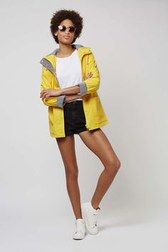 PETITE Yellow Rain Mac - Jackets & Coats - Clothing - Topshop Europe