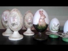 Пасхальные яйца в подарок Сувенир - YouTube