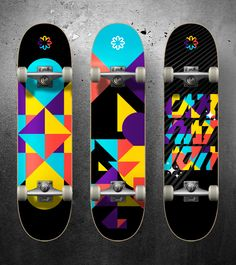 Carnation Skateboard Decks by INS - Zoltán Szalay, via Behance