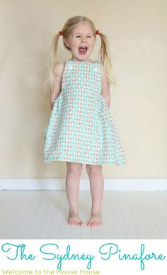 The Sydney Pinafore « Sew,Mama,Sew! Blog. Free tutorial.