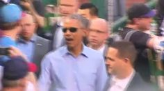 Democrats Chant 'Four More Years!' During Obama's Surprise Visit to Congressional Baseball Game - Breitbart