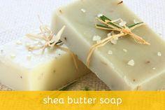 DIY Shea Butter Soap