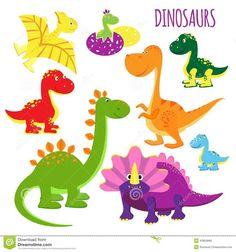 dinosarios en goma eva - Buscar con Google