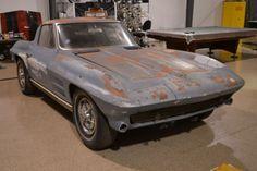 Split Window Survivor: 1963 Corvette Sting Ray
