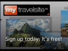 MyTravelsite free travel app  Share your trips, photos and dreams