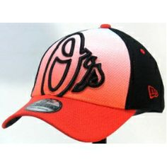 dff858db41c5d Baltimore Orioles New Era 3930 Gradation 2 Stretch Fit Hat. Has an  embroidered oversized team