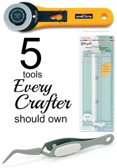 There are loads of different crafting tools and gadgets out there, but do you really need them all? You may never need an overstitcher if you don't do a lot of leatherwork, but most crafters would benefit from owning a hot glue gun stand. Read on as eBay shares a list of the top five tools that every DIYer should own when they get their craft on!