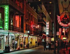 La strip bourbon