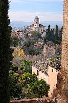 The Alhambra in Spain