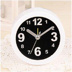 2016 Direct Selling Plastic Needle Estacion Meteorologica Despertador Saat 1417 And Small Alarm Clock Simple Promotion Gift