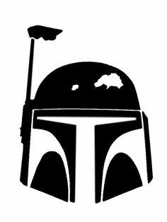 Star Wars Stencil - ClipArt Best | Kid Space | Pinterest | Star ...