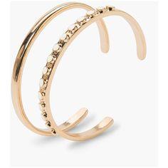 MANGO Rigid Bracelets Set (241130 BYR) via Polyvore featuring jewelry, bracelets, bangle jewelry, hinged bangle, bracelets & bangles, metal jewelry and bangle bracelet
