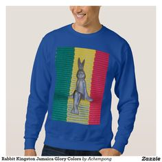 "Your #Custom #Men's Basic #Sweatshirt ""Don't #worry about a thing, every little thing is gonna be alright."" That's what the #king or #reggae once said"