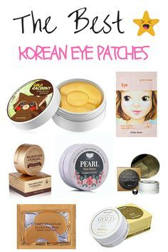 """""""I love that eye patches now exist to solve a plethora of beauty problems: tightening the skin, moisturizing, decreasing puffiness, decreasing fine lines and so much more! We've put all the best Korea Beauty Secrets, Beauty Hacks, Beauty Care, Beauty Tips, Dry Eyes Causes, Skin Care Routine For 20s, Korean Skincare Routine, Asian Skincare, Image Skincare"""