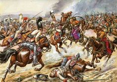 Charge of the Mamelukes at Austerlitz by Jack Girbal