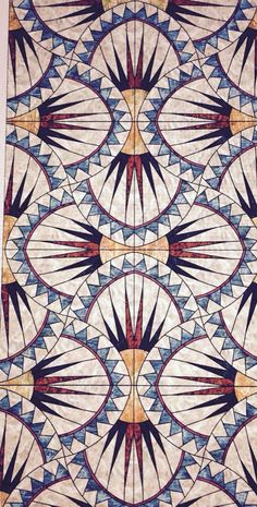 Art deco pattern, pattern art и tile patterns. Motifs Textiles, Textile Patterns, Quilt Patterns, Prints And Patterns, Textile Prints, Surface Pattern Design, Pattern Art, Pattern Ideas, Molduras Vintage