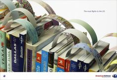 GUIDE, American Airlines, Mccann Erickson Brasil, American Airlines, Print, Outdoor, Ads
