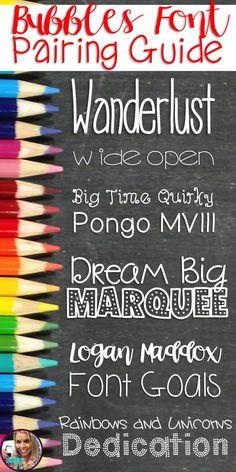 Growing Fonts Bundle Personal {Non-Commercial} Use Bubbles Fonts Teacher Fonts, Teacher Resources, Free School Fonts, Bubble Letter Fonts, Doodle Lettering, Doodle Fonts, Doodle Art, Typography, Halloween Fonts