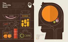 The Scoville Scale by Nate Luetkehans – via Data + Design